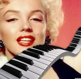 Decorare le vostre foto aggiungendo un tasti di un pianoforte su di loro