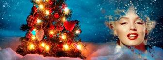 Foto di copertina di Natale per Facebook.