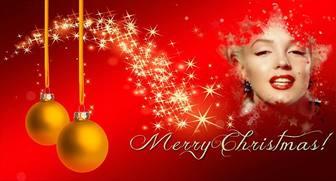 Facebook foto di copertina con testo Merry Christmas.