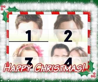 cartolina di natale da fare le vostre foto preferite 4 lettura di happy christmas