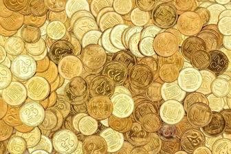 Foto di gioco per trovare la vostra immagine su un mucchio di monete
