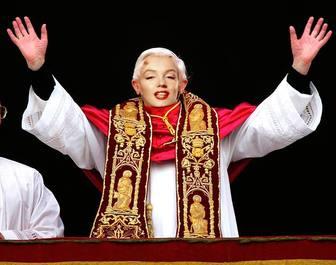 fotomontaggio online che ti permette di essere il Papa