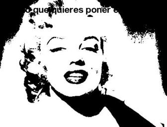 Filtro per le foto in bianco e nero come stile Che Guevara.