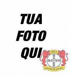 Photo effetto per le foto per mettere lo scudo della Bayer Leverkusen nella foto.