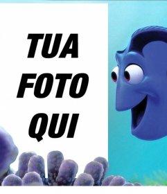 Effetto personalizzabile con Dory di Nemo