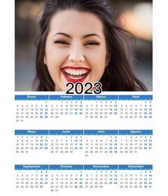 Calendario 2021 anno intero con la tua foto   Fotoeffetti