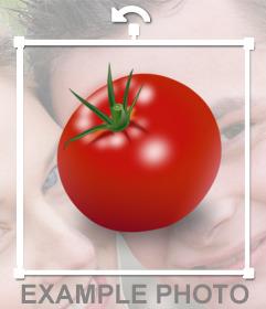 Pomodoro Sticker per nascondere i volti nelle foto