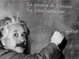 Fotomontaggio Slate Einstein