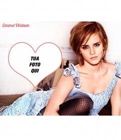 Fotomontaggio con Emma Watson