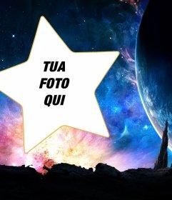 Galaxy Fotomontaggio di mettere la tua foto in una stella