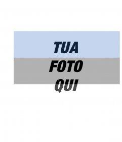 Fotomontaggio della foto caricata xalong con bandiera dellEstonia