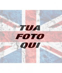 Filtro Photo con un burnout Union Flag sovrapporre le foto e modificarle