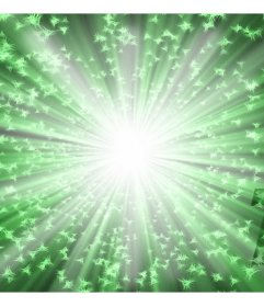filtro verde brillante per aggiungere alle vostre foto online
