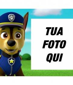 Canine Patrol effetto foto di caricare una foto