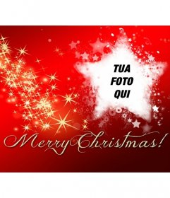 Facebook foto di copertina con testo Merry Christmas