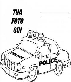 Immagini Di Disegni Da Colorare Auto Della Polizia
