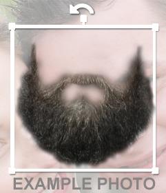 Fotomontaggio per mettere una barba sulla tua foto