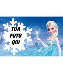 Fotomontaggio con Elsa