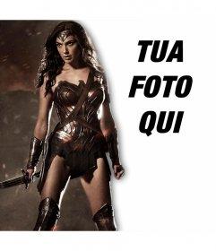 Aggiungi la tua foto accanto alla nuova Wonder Woman con questo effetto in linea