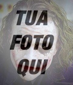 Filtro di mettere la faccia del Joker sulla vostra immagine on-line Effetto
