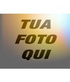 Filtro immagini di luce e di colori per modificare online la tua foto