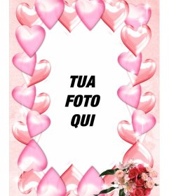 Photo frame per decorare la tua foto con il cuore