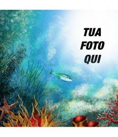Fate una gita al mare profondo caricando la tua foto in tal senso in linea