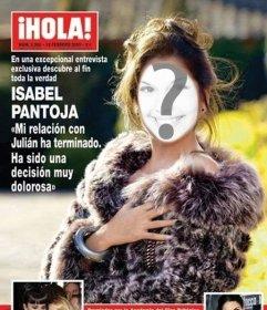 Cover di 'ciao!' rivista in cui si può mettere il viso l'immagine di