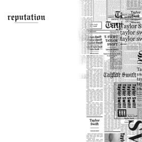 Taylor Swift Filtro di copertura della reputazione dellalbum