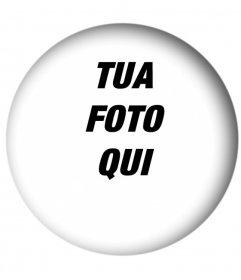 Photo arrotondato fotogrammi con effetto ombra