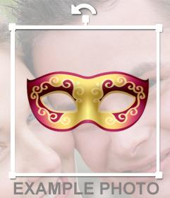 Maschere veneziane per mettere le tue foto e gratuito