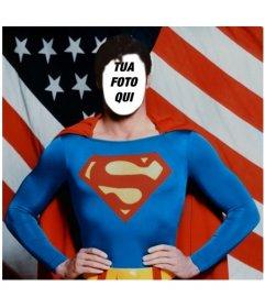 Diventa Superman con questo fotomontaggio di modificare con la tua foto