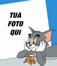 La tua foto con Tom e Jerry con questa foto effetto