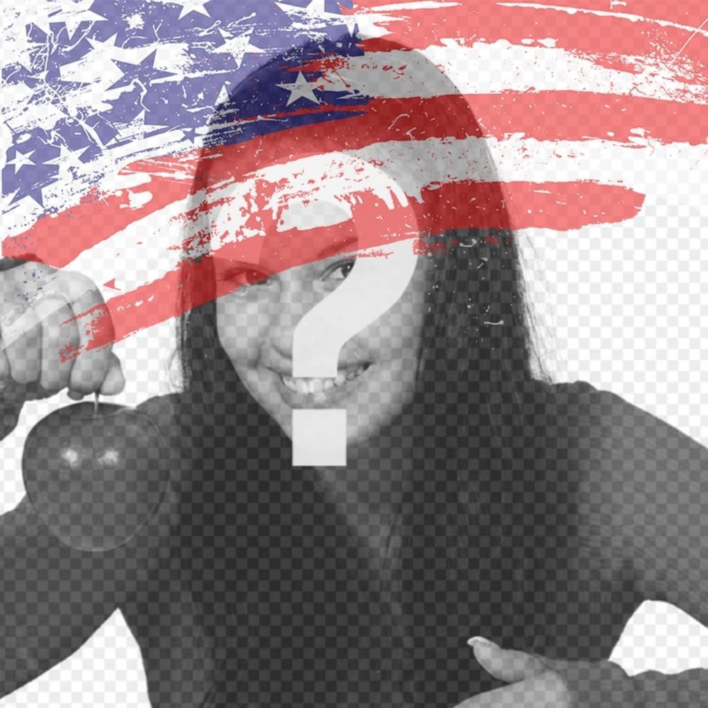 Bandiera degli Stati Uniti di mettere come immagine del profilo