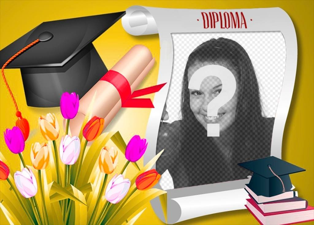 Diploma con la tua foto