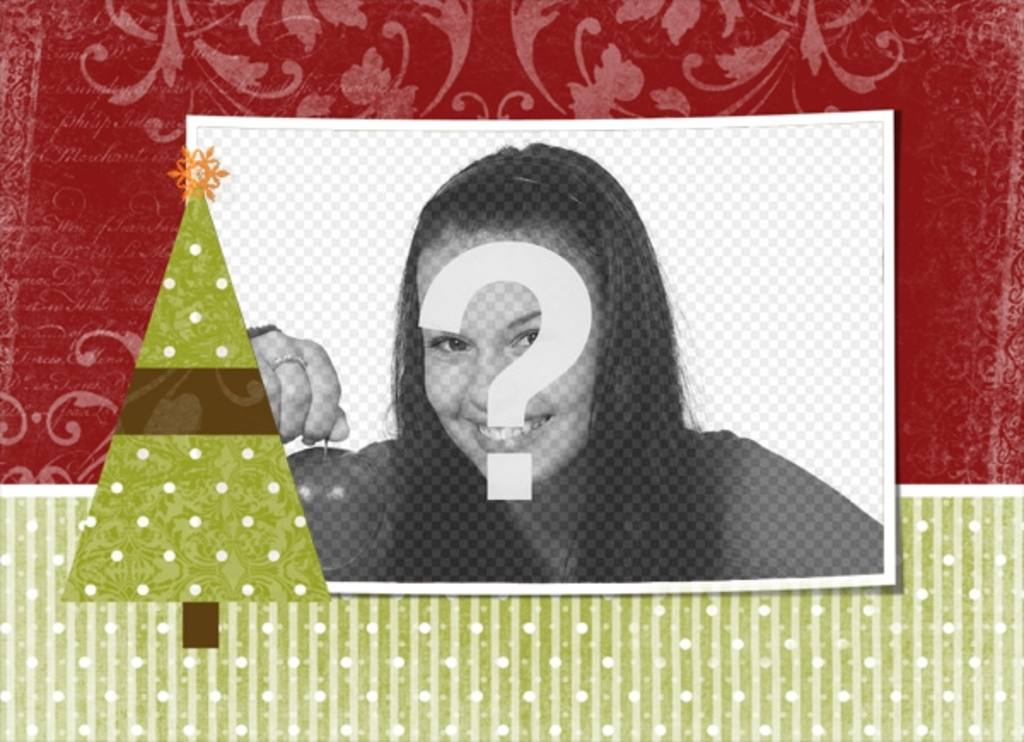 Immagini Natale Da Personalizzare.Cartolina Di Natale Da Personalizzare Con Una Foto A Tua