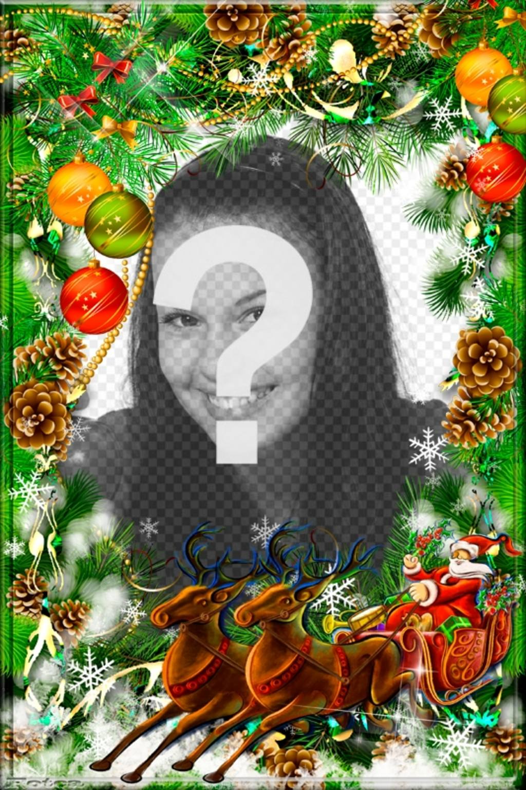 Immagini Natale Da Personalizzare.Cartolina Di Natale Da Personalizzare Con Una Corona E Di