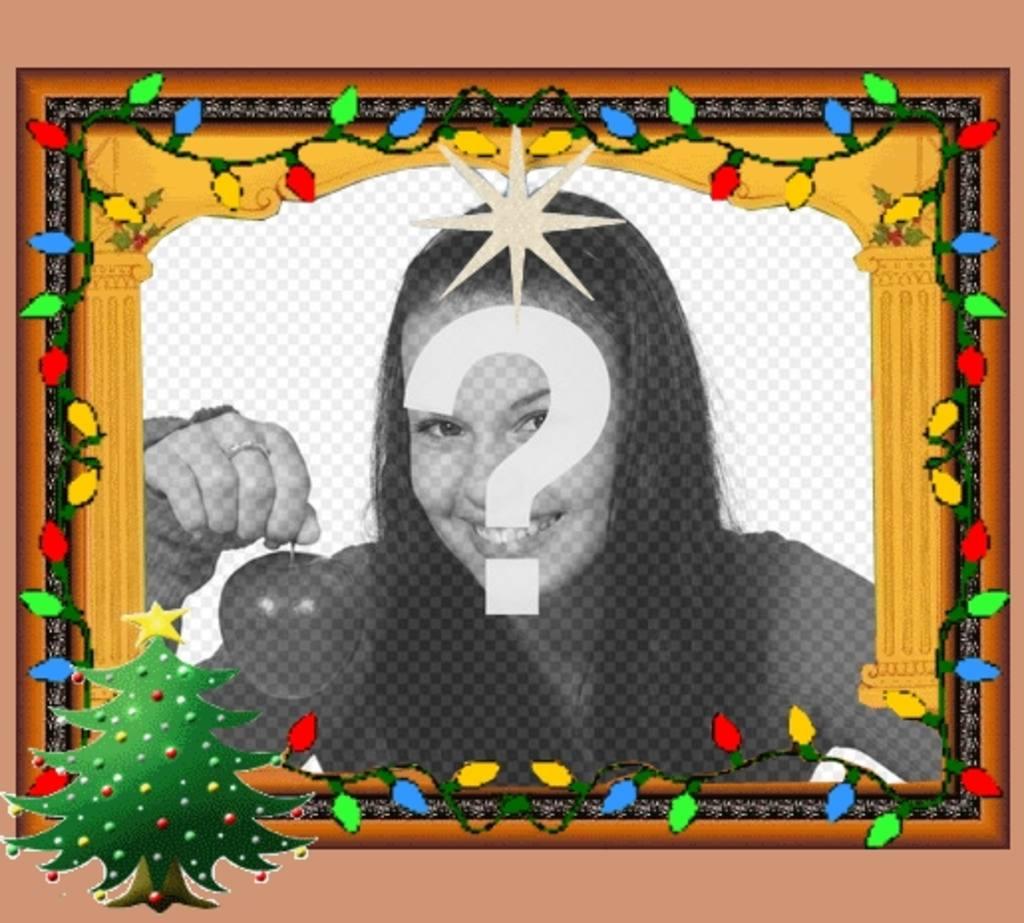 Cartoline di Natale animate con luci