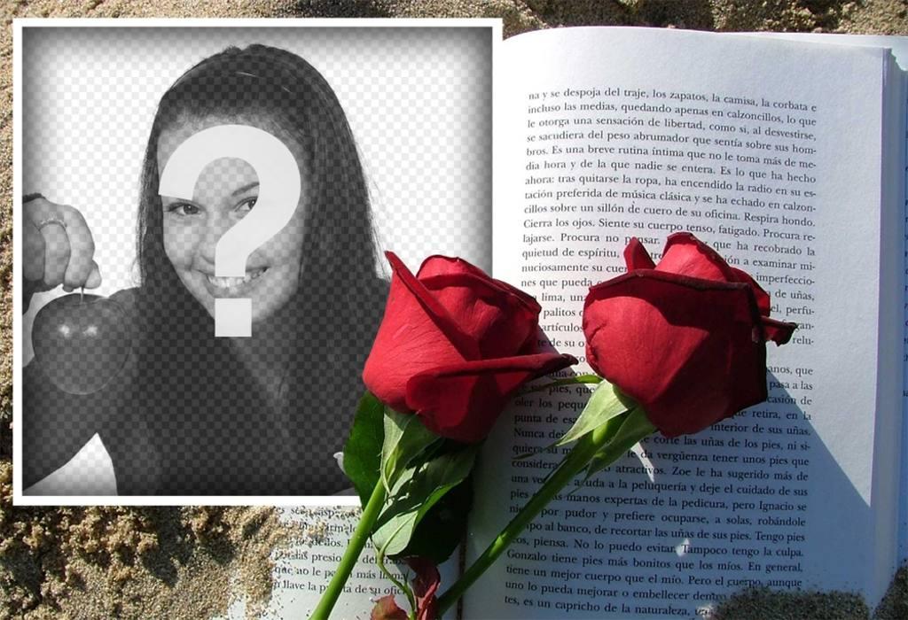 Romantico effetto foto per mostrare il vostro amore per qualcuno