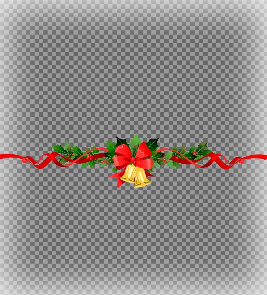 Mettere due foto insieme ad un decorativo Ghirlanda di Natale con questo effetto