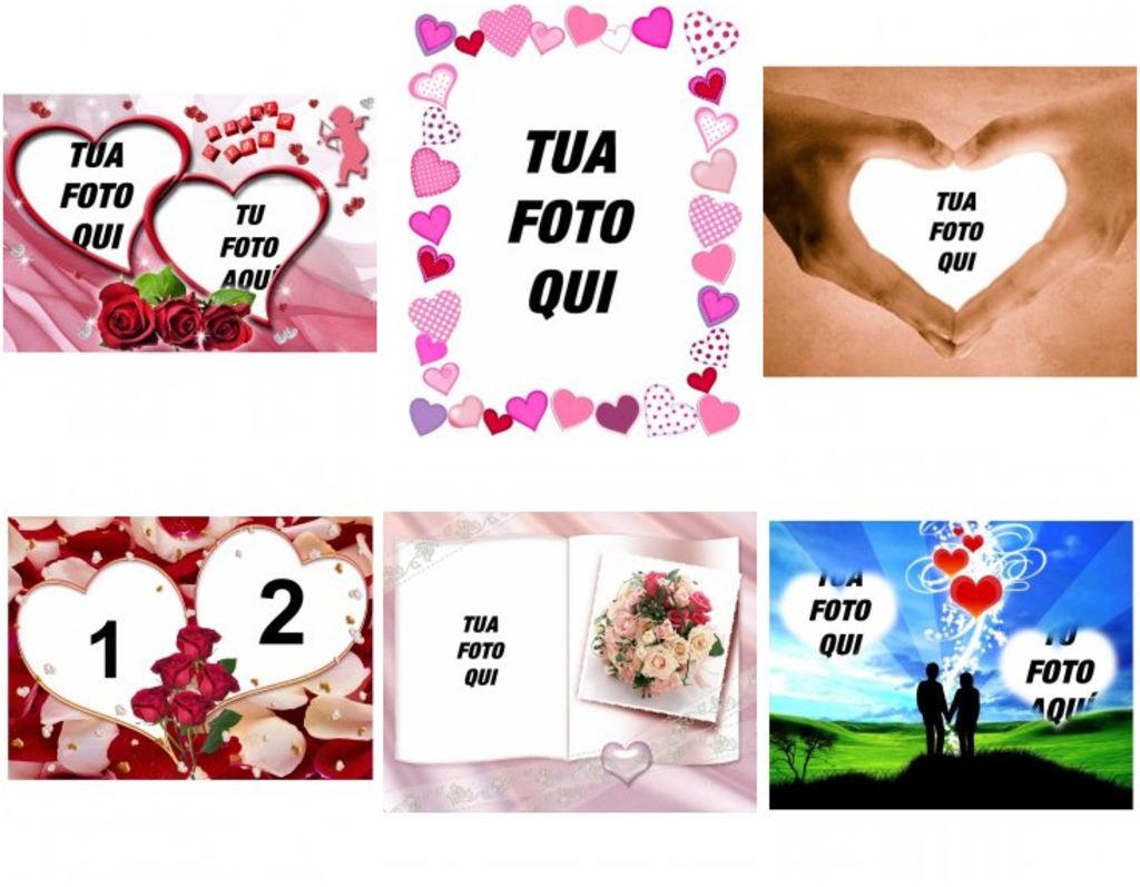 Cornici Per Foto Romantiche.Aggiungi On Line Cornici Romantiche Per Le Vostre Foto