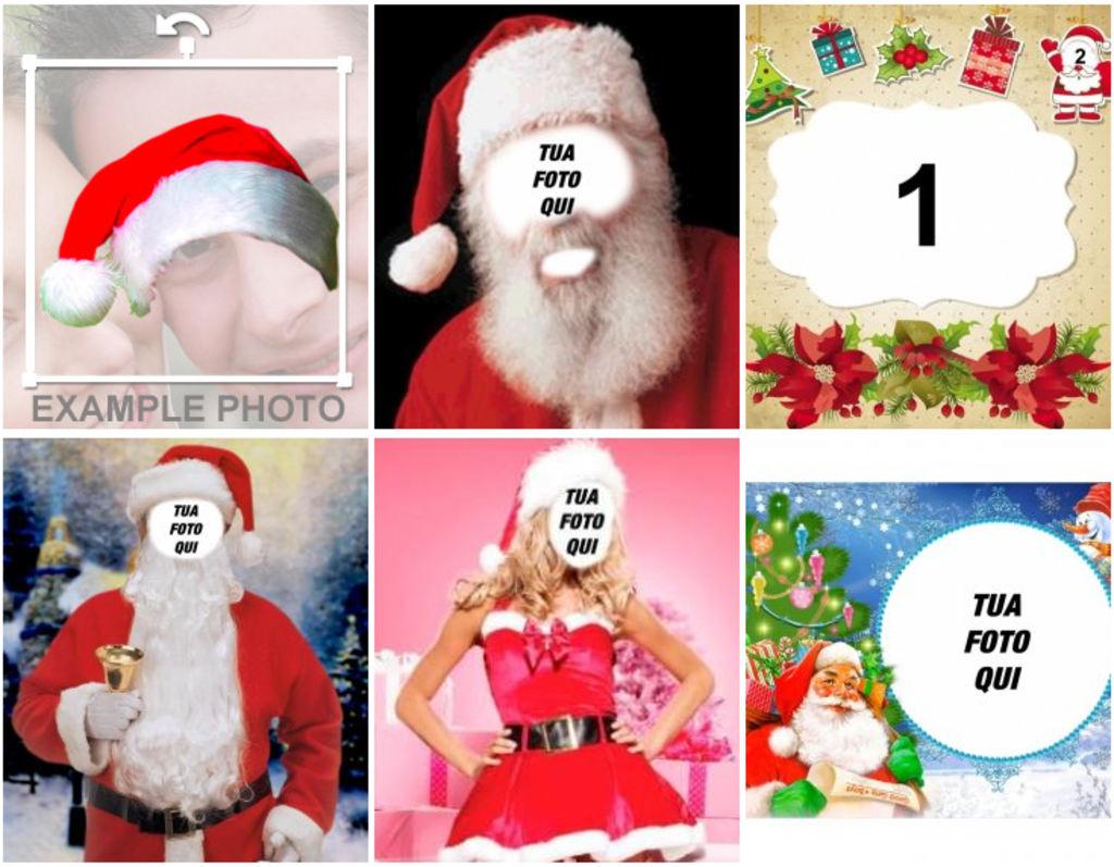Babbo Natale Immagini Divertenti.Fotomontaggi Divertenti Di Babbo Natale E Natale Fotoeffetti