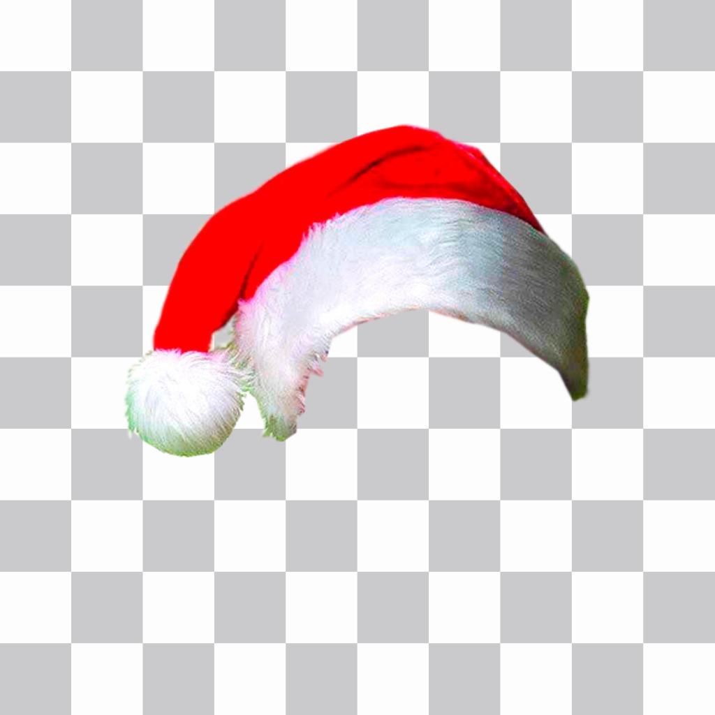 fotomontaggio per mettere un cappello di natale nella tua foto online e8a5bec2ad8a